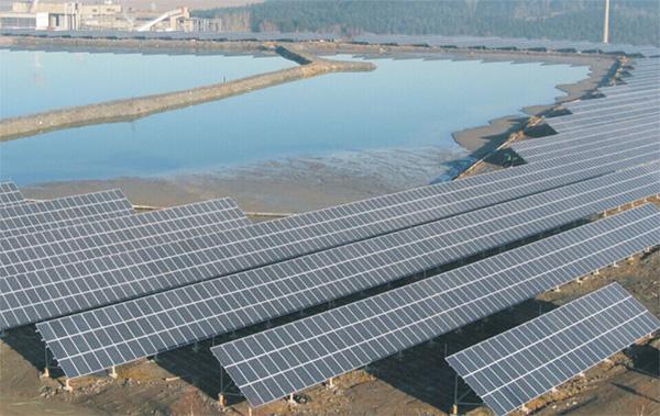 risen 9MW solar farm