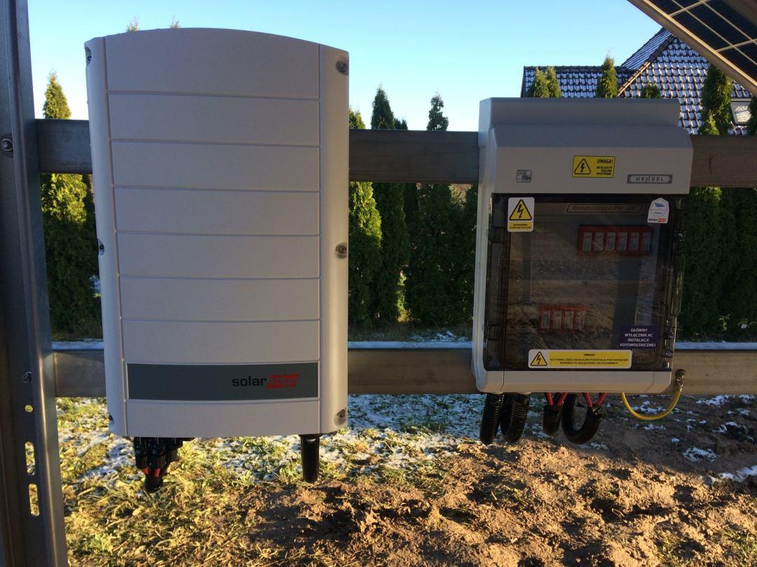 solaredge installation n-type panels
