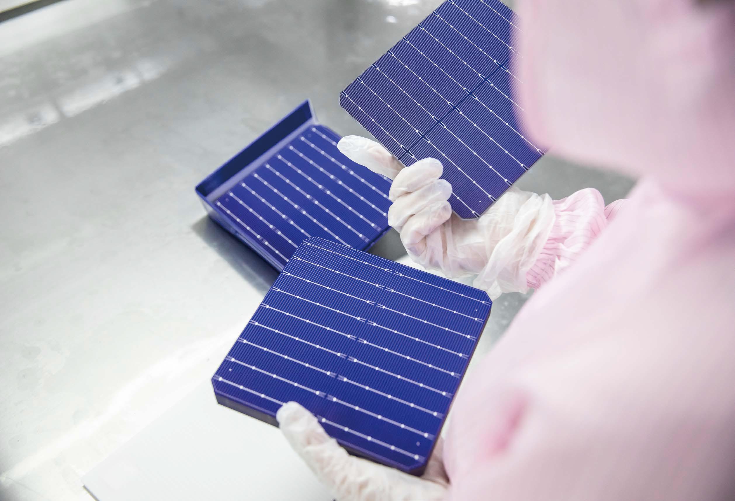 Huasun HJT solar cell